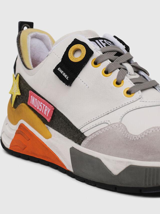 Diesel - S-BRENTHA LC VELCRO, Bianco - Sneakers - Image 5