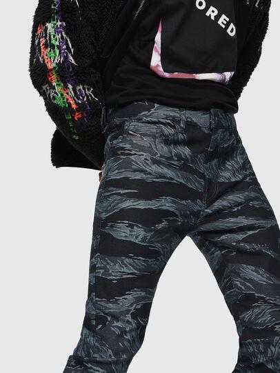 Diesel - D-Amny 0091R, Blu Scuro - Jeans - Image 3