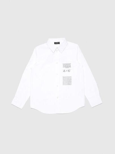 Diesel - CSVENPRINT, Bianco - Camicie - Image 1