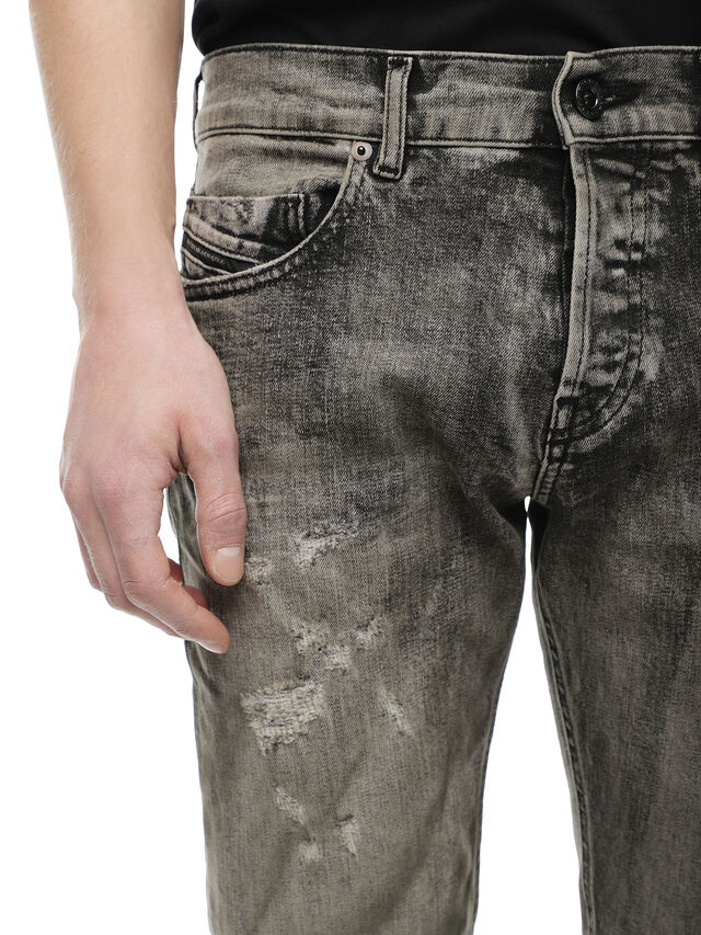 Diesel - TYPE-2813FS, Grigio Jeans - Jeans - Image 5