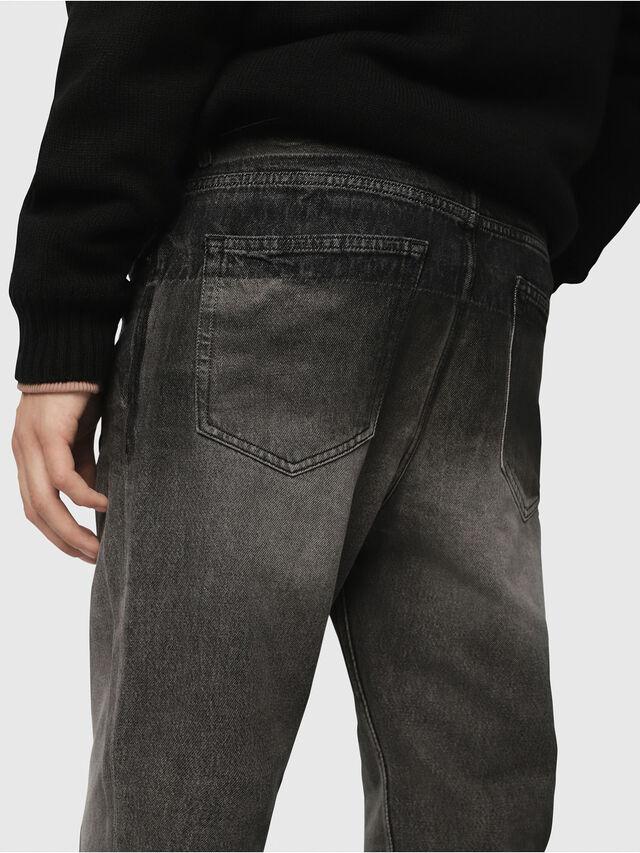 Diesel - D-Aygle 089AU, Nero/Grigio scuro - Jeans - Image 4