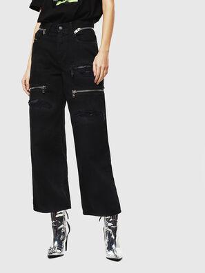 Widee 069JA, Nero/Grigio scuro - Jeans