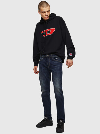 Diesel - Belther 0814W, Blu Scuro - Jeans - Image 6