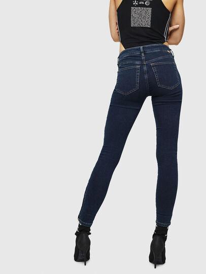 Diesel - Slandy Zip 083AM, Blu Scuro - Jeans - Image 2
