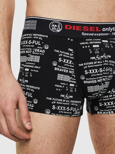 Diesel - UMBX-DAMIENTHREEPACK, Nero/Bianco - Boxer stretch - Image 4
