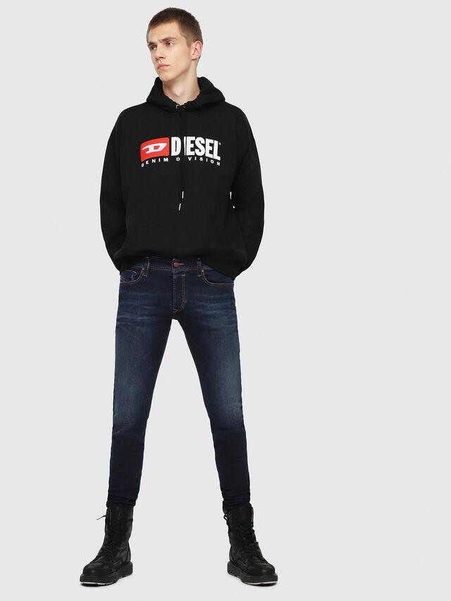 Diesel - Sleenker 084RI, Blu Scuro - Jeans - Image 4