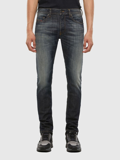 Diesel - Thommer 009EP, Blu Scuro - Jeans - Image 1