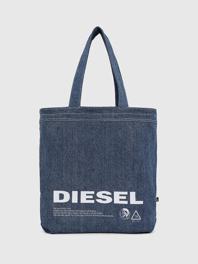 Diesel - F-THISBAG SHOPPER NS, Bianco/Blu - Shopper e Borse a Spalla - Image 3