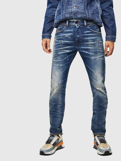Diesel - Thommer JoggJeans 0870Q, Blu medio - Jeans - Image 1