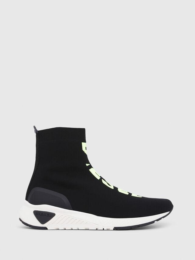 Diesel - S-KB MID ATHL SOCK, Nero - Sneakers - Image 1