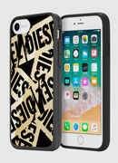 MULTI TAPE GOLD/BLACK IPHONE 8/7/6S/6 CASE, Oro - Cover