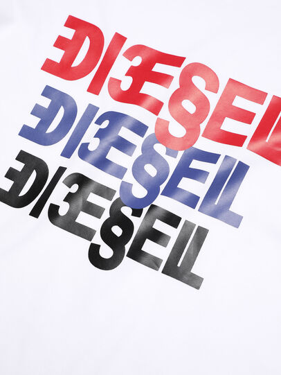 Diesel - TSURY, Bianco - T-shirts e Tops - Image 3