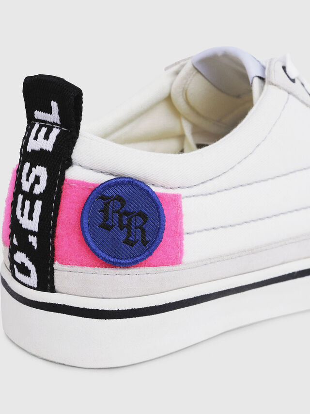 Diesel - D-VELOWS LOW PATCH W, Bianco - Sneakers - Image 5