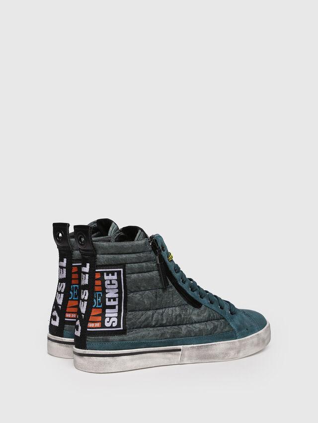 Diesel - D-VELOWS MID PATCH, Verde Acqua - Sneakers - Image 2