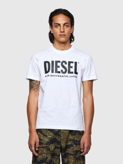 Diesel - T-DIEGOS-ECOLOGO, Bianco - T-Shirts - Image 1
