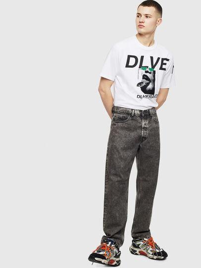 Diesel - T-JUST-T21, Bianco - T-Shirts - Image 7