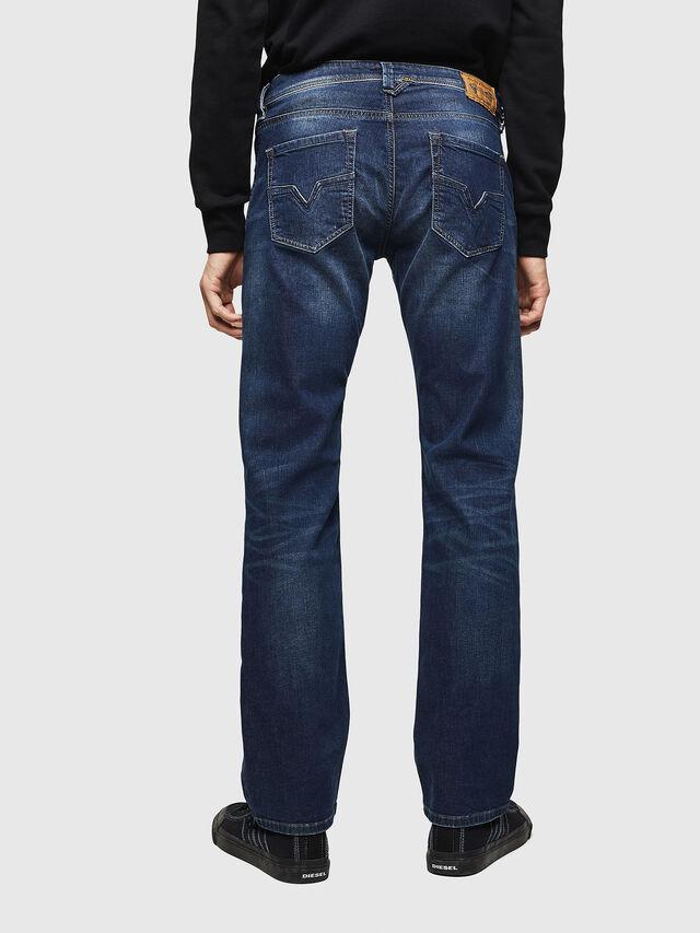 Diesel - Larkee 0853R, Blu Scuro - Jeans - Image 2
