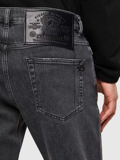 Diesel - D-Strukt 009RE, Nero/Grigio scuro - Jeans - Image 4