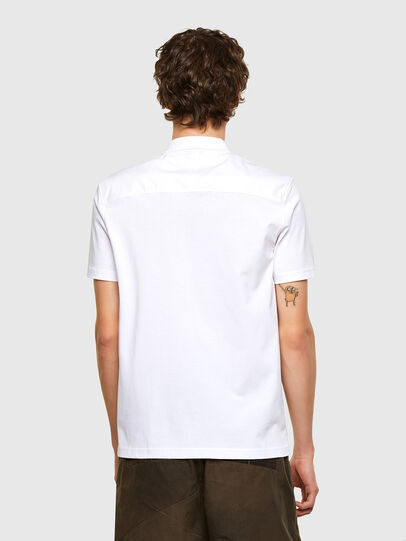Diesel - T-ERPOLOCK, Bianco - Polo - Image 2