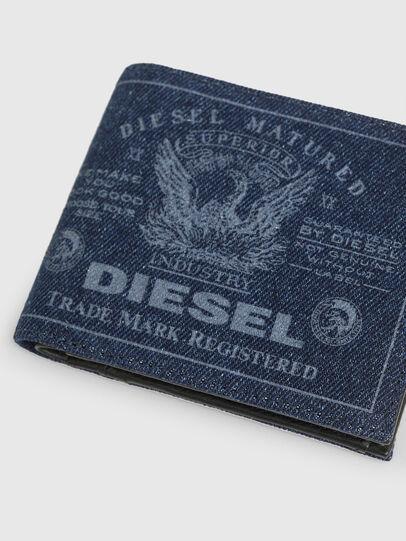 Diesel - HIRESH S, Blu Jeans - Portafogli Piccoli - Image 4