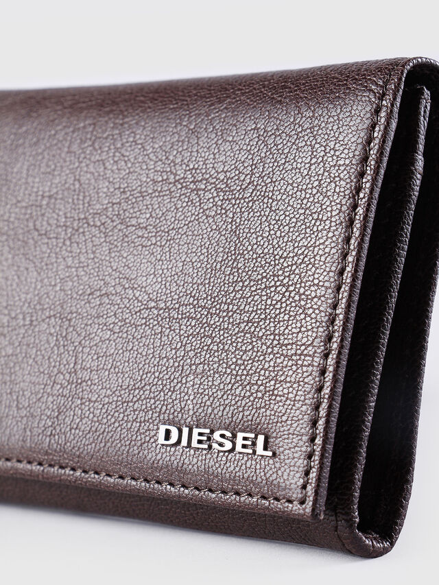 Diesel - 24 A DAY, Marrone - Portafogli Continental - Image 3
