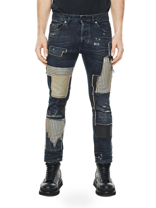 Diesel - TYPE-2813D, Blu Scuro - Jeans - Image 1