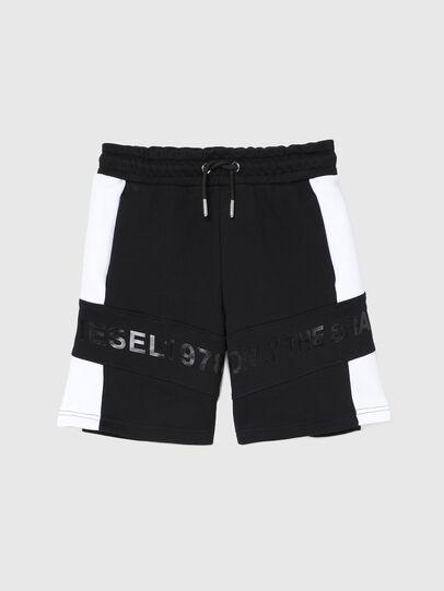 Diesel - PSHAM, Nero/Bianco - Shorts - Image 1
