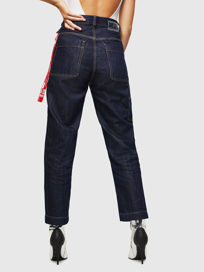 Diesel - CC-D-FRANK, Blu Scuro - Pantaloni - Image 5