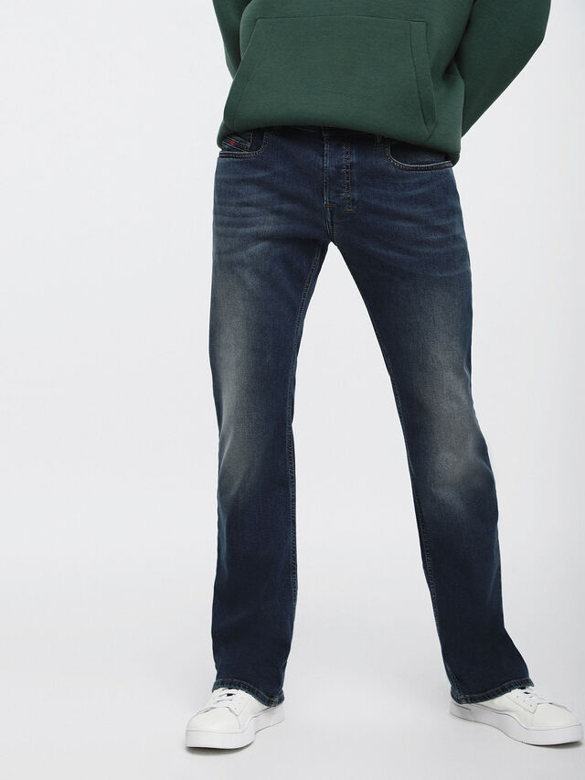 Diesel - Zatiny 084BU, Blu Scuro - Jeans - Image 1
