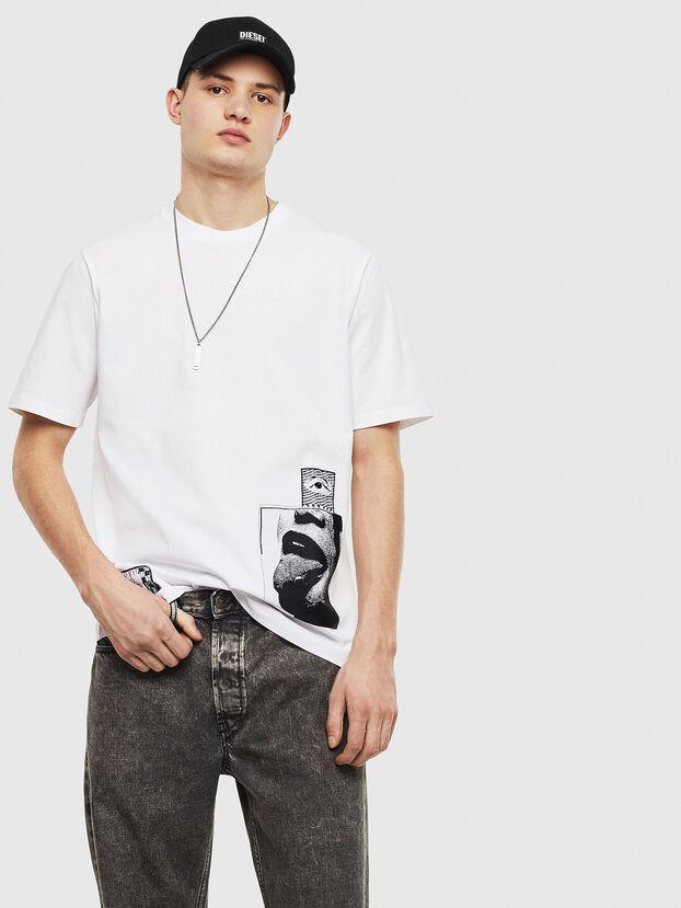T-JUST-T18, Bianco - T-Shirts
