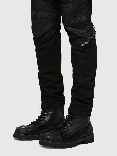 Diesel - D-Strukt 069TH, Nero/Grigio scuro - Jeans - Image 5