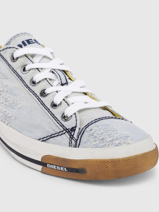 Diesel - EXPOSURE IV LOW  W, Blu Chiaro - Sneakers - Image 5