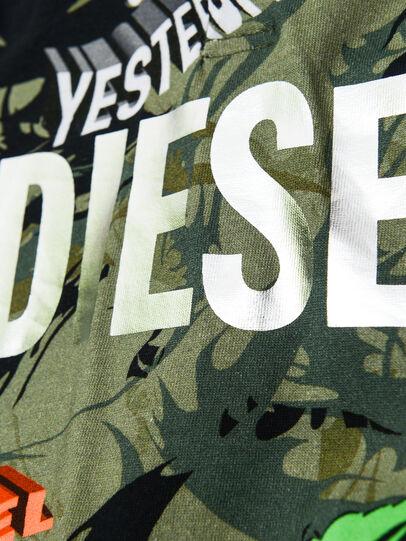 Diesel - TIRONDAB, Verde Militare - T-shirts e Tops - Image 3