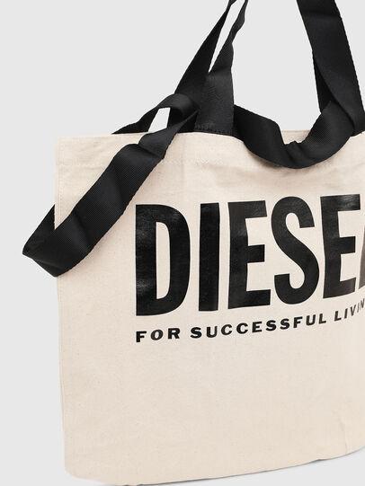 Diesel - LYVENZA, Bianco/Nero - Shopper e Borse a Spalla - Image 3