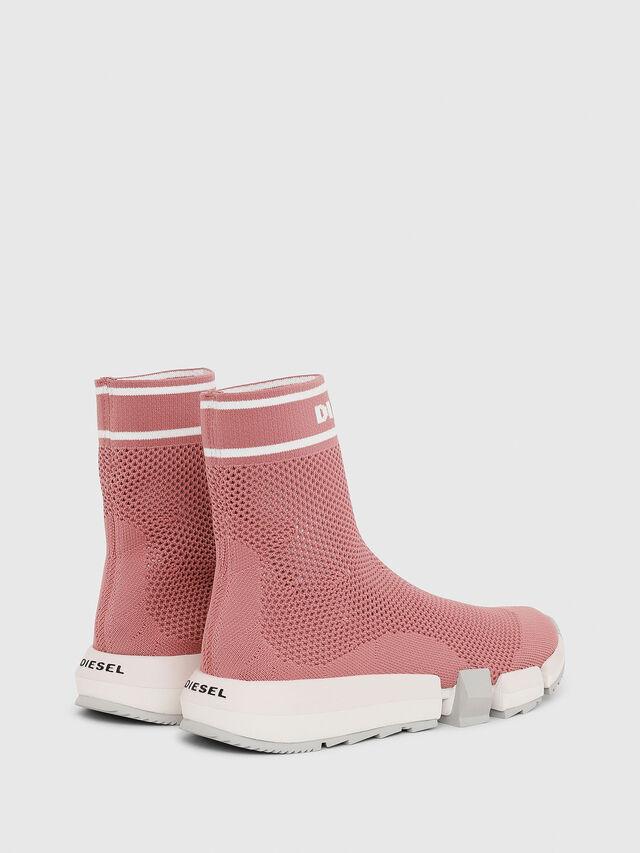 Diesel - H-PADOLA NET W, Rosa - Sneakers - Image 3