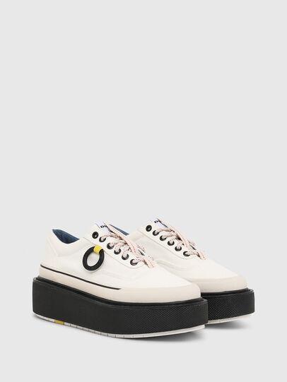 Diesel - H-SCIROCCO LOW, Bianco/Rosa - Sneakers - Image 2