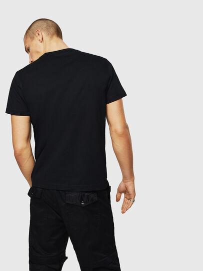 Diesel - T-DIEGO-A3, Nero - T-Shirts - Image 2