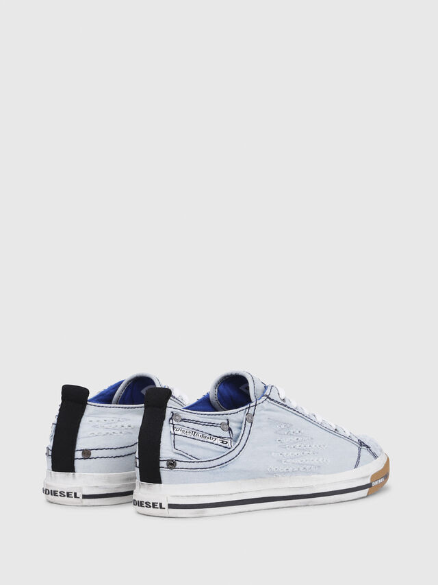 Diesel - EXPOSURE LOW I, Blu Chiaro - Sneakers - Image 3