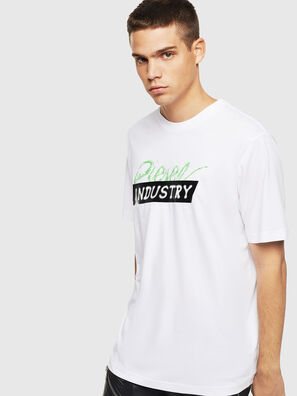 T-JUST-BX2, Bianco - T-Shirts