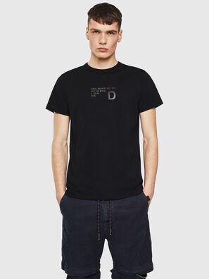 T-DIEGO-S5, Nero - T-Shirts