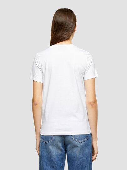 Diesel - T-SILY-K9, Bianco - T-Shirts - Image 2