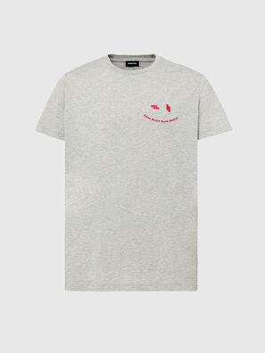 T-DIEGOS-N28, Grigio - T-Shirts