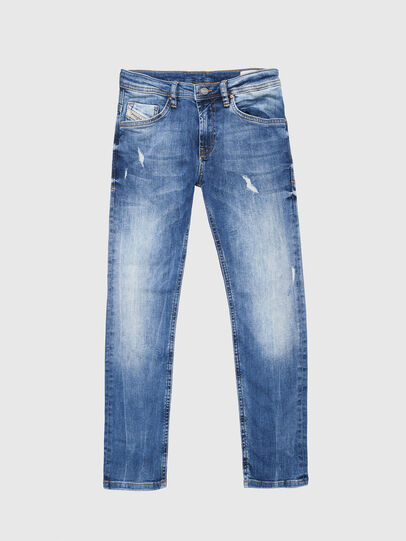 Diesel - THOMMER-J, Blu Jeans - Jeans - Image 1