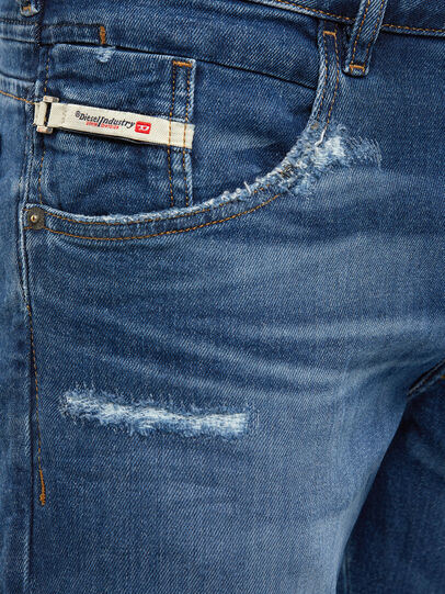 Diesel - D-Bazer 009DE, Blu Scuro - Jeans - Image 3