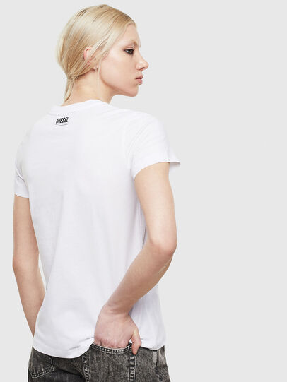 Diesel - T-SILY-S5, Bianco - T-Shirts - Image 2