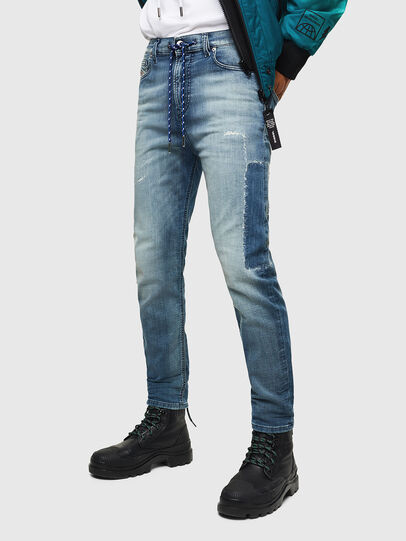 Diesel - D-Vider JoggJeans 069JZ, Blu Chiaro - Jeans - Image 1