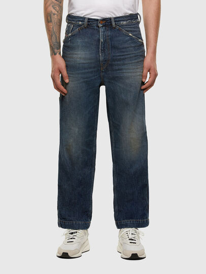 Diesel - D-Franky 009EW, Blu Scuro - Jeans - Image 1