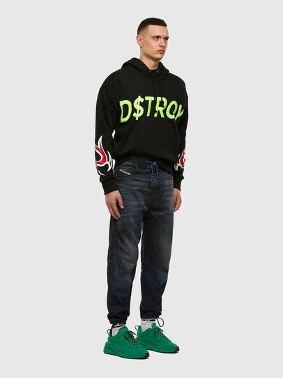 Diesel - D-Skint JoggJeans® 069PE, Blu Scuro - Jeans - Image 7