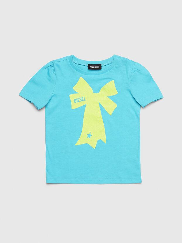 TASHAB-R, Azzurro - T-shirts e Tops