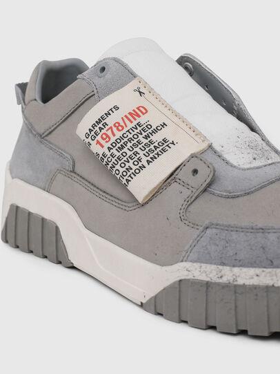 Diesel - S-LE RUA ON, Grigio - Sneakers - Image 4
